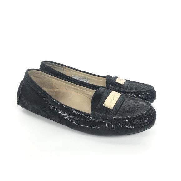 2813eb550d7 Vionic Sydney Black loafers flats driving shoes. M 5b972192baebf67e9c23d7b0